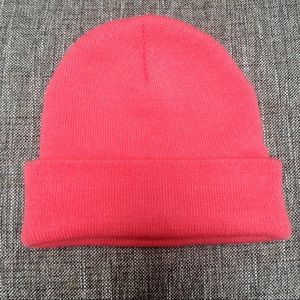 Coral Beanie from Charlotte Russe
